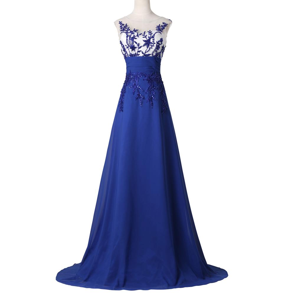 Long Blue Evening Dresses for Women | Gowns Ideas