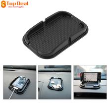 Universal Multi-functional Car Anti Slip Pad Rubber Mobile Sticky Stick Dashboard Phone Shelf Antislip Mat For GPS MP3(China (Mainland))