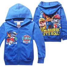 2016 Children Boys Clothing Hoodies Cartoon Patrol Dog Clothes Boys Fashion Sweatshirts Kids Boys Hoodies Boys Tops Costume