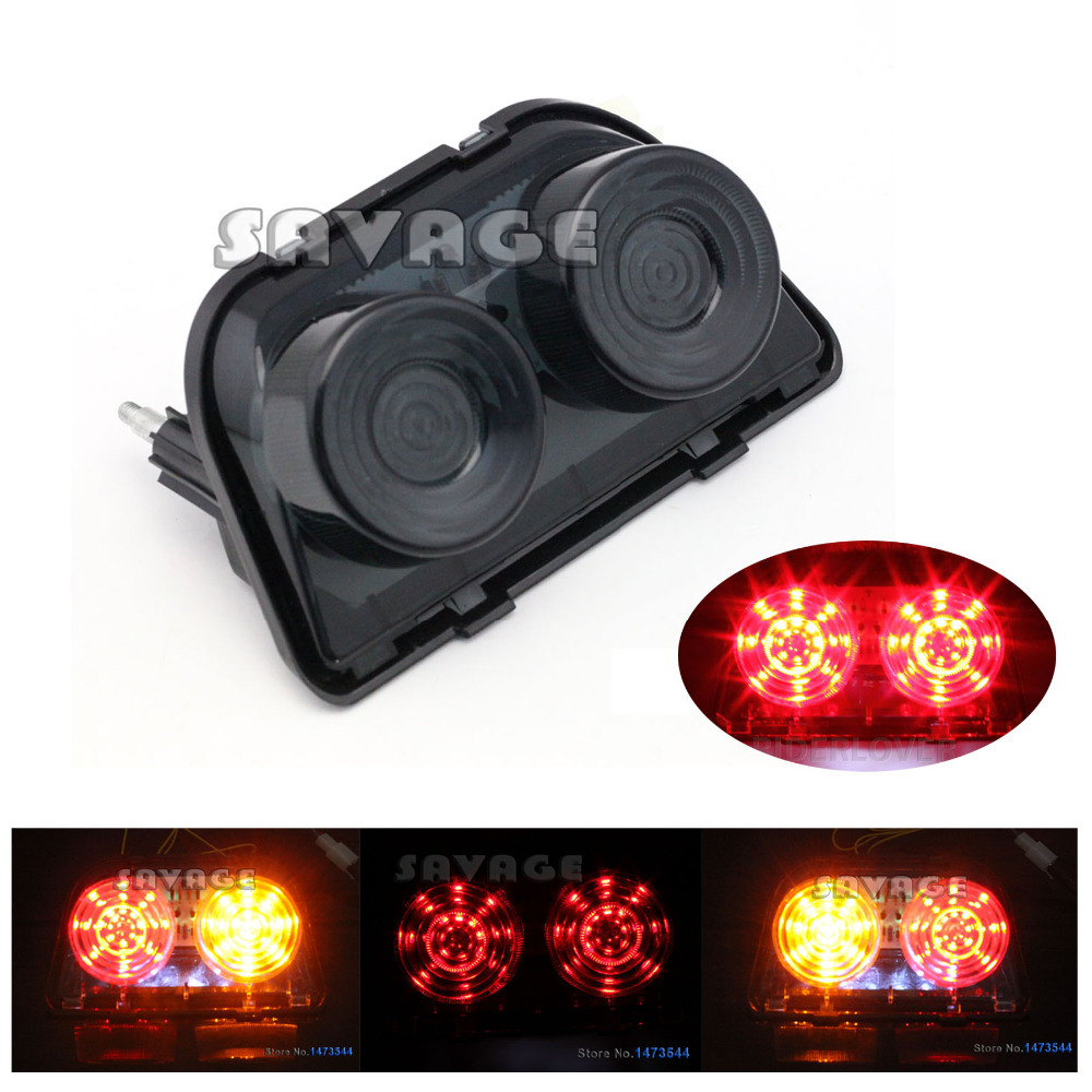 Motorcycle Accessories Integrated LED Tail Light Turn signal Black For HONDA CBR250 CBR400 NSR250SP NSR250SE<br><br>Aliexpress