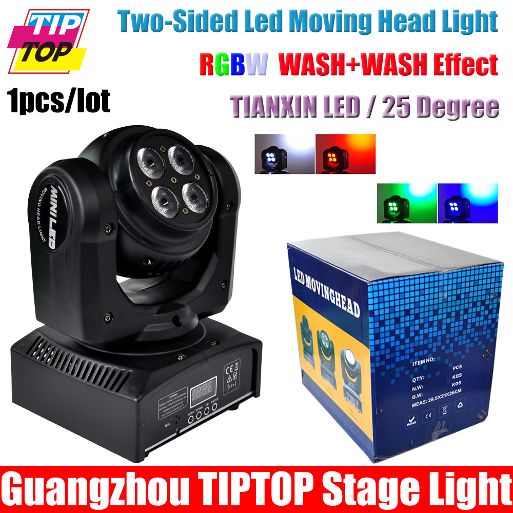 Здесь можно купить  Freeshipping One Sample 100W Two-sided led moving head light DMX Stage Beam Effect Endless Rotate RGBW 4IN1 8*8W Led Tianxin  Свет и освещение