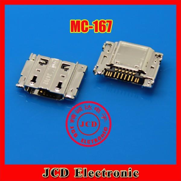 100%Original!  200PCS/LOT for Samsung I9260 I9268 phone charging port,USB jack socket connector,USB data port plug,Free shipping