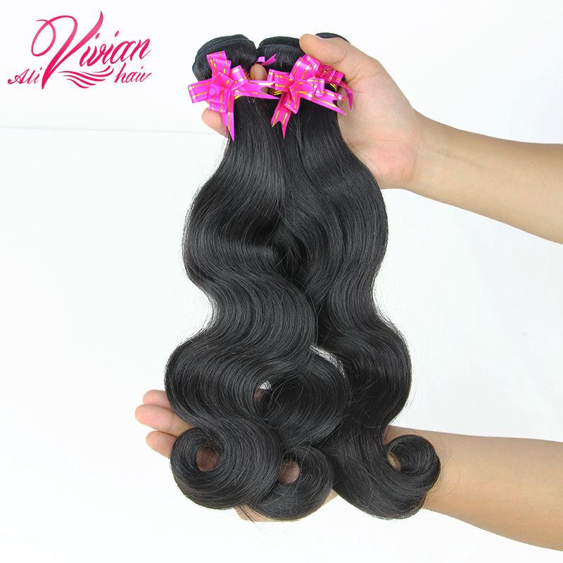 Queen Hair Products Brazilian Virgin Hair Queen Hair Brazilian Body Wave Queen Weave Beauty 100% Unprocessed Human Hair Bundles(China (Mainland))