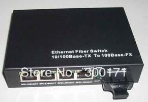 optical fiber switch fast transceiver 1 optial 4 ethernet port transceiver Ethernet Fiber Switch 10/100base-TX to 100base-FX(China (Mainland))