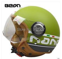Limited vinatge BEON motorcycle helmet  retro helmet vintage scooter open face helmet moto casco motocicleta capacete(China (Mainland))