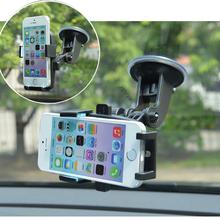 Car Mobile Phone Holder Stand Universal Sucker GPS Bracket Holders 360 Rotation Car-styling Accessories For iPhone iPad Samsung