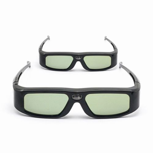 2pcs x SainSonic 144Hz 3D DLP Link Active Glasses for Optoma BenQ SamSung Sharp Acer