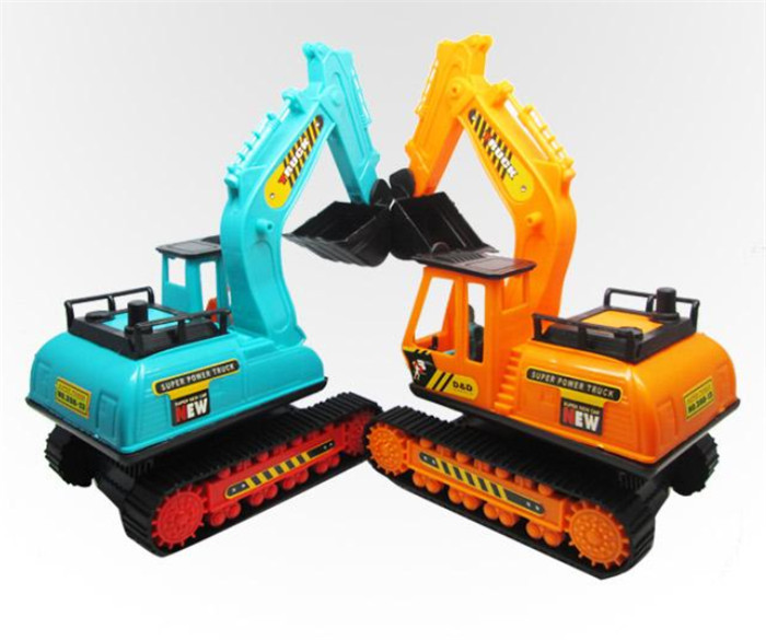 Diecast Plastic kids toys Excavator toys for children Diecast Plastic Random Color cheap The creative Novelty Fashion MM073(China (Mainland))