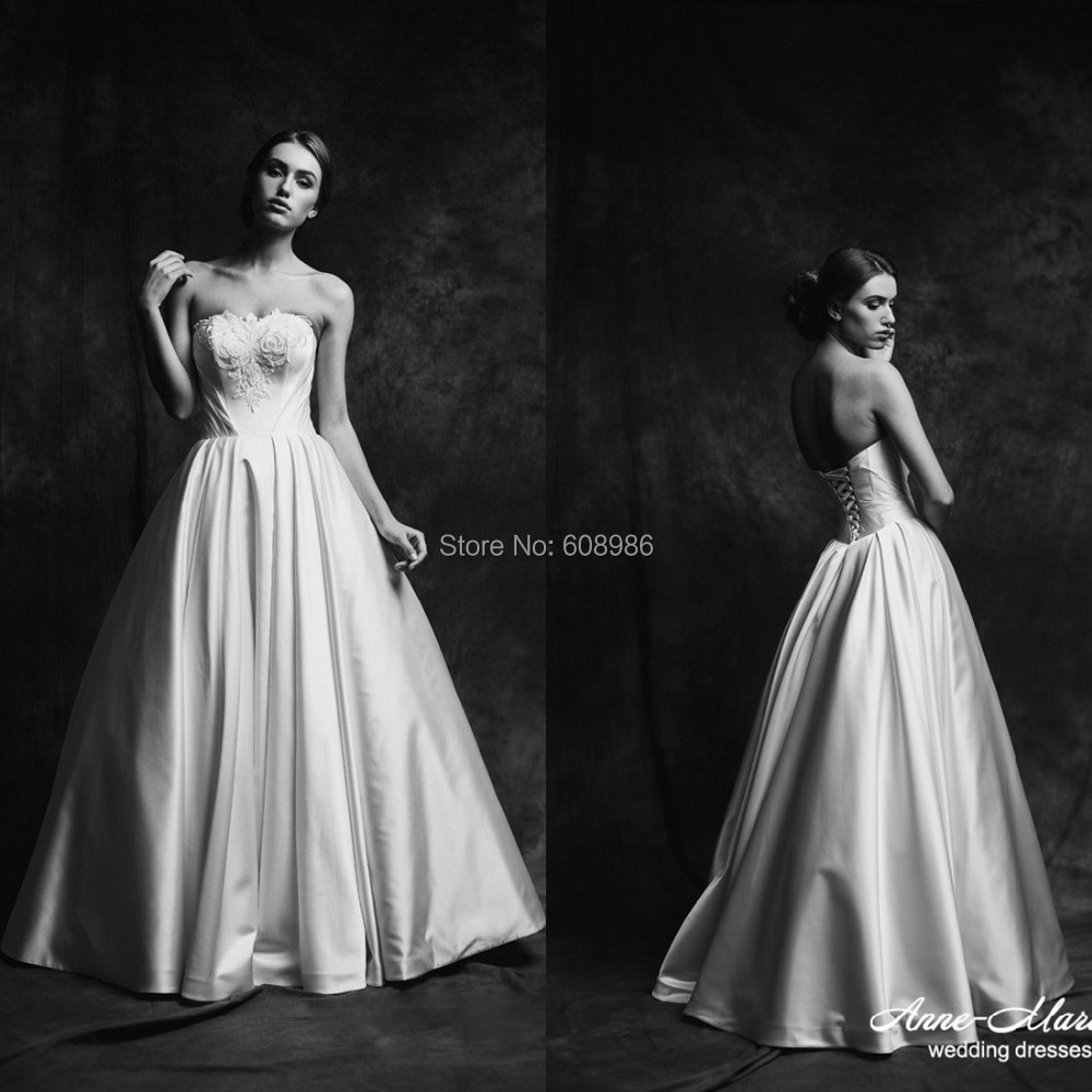 Strapless beach bridal dress backless wedding dresses for Formal long dresses for weddings