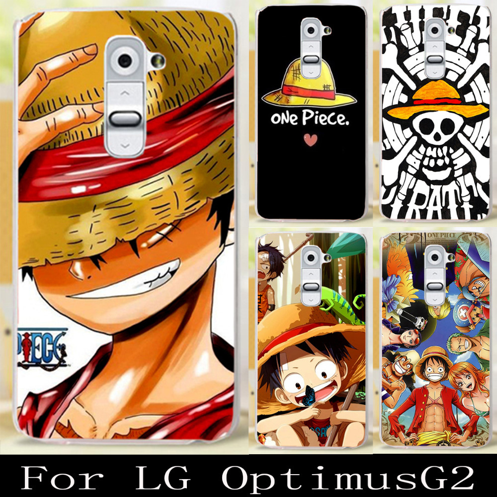 """Cartoon ONE PIECE Cartoon Skull Hard Back Case Cover Shell Skin cell phone case For LG Optimus G2 D802 D801 D800 D803 F320 5.2""""(China (Mainland))"""