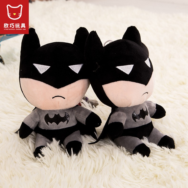 1pcs 20cm New Item 2015 Cartoon Batman Stuffed Doll Plush Toys Pokemon Minion Exported To Europe Selling Toys Free Shipping<br><br>Aliexpress