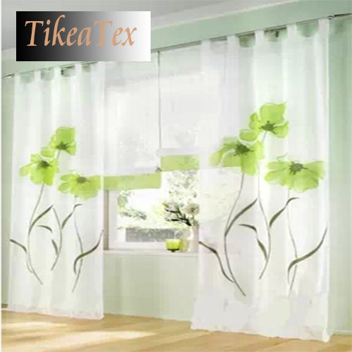2015 Hot Sale Window Curtains Curtains for Living Room Bedroom Window Sheer Curtains Tulle (1 piece only)(China (Mainland))
