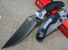 Faca araña C173 cuchillo táctico del cuchillo de caza que acampa cuchillos 59HRC 9CR19 cuchillo plegable de la lámina envío libre + de calidad superior