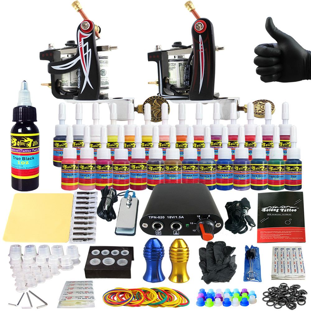Popular tattoo kits for beginners buy cheap tattoo kits for Best tattoo starter kit