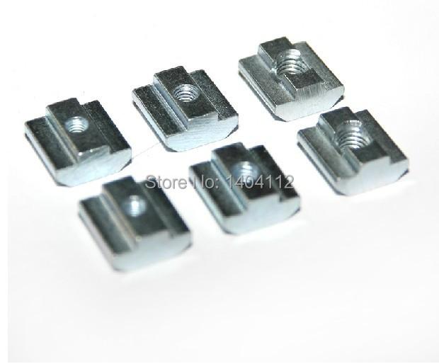T Sliding Nut block M8 for 40 series Aluminum Profile slot 8 Zinc Coated Plate Aluminum Accessories<br><br>Aliexpress