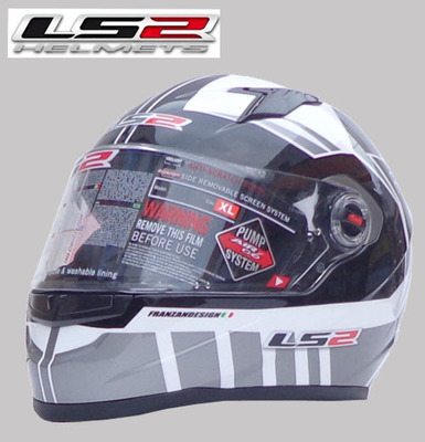 Free shipping Genuine limited edition sports car helmet motorcycle helmet LS2 FF358-1 wearable lens with a balloon(China (Mainland))