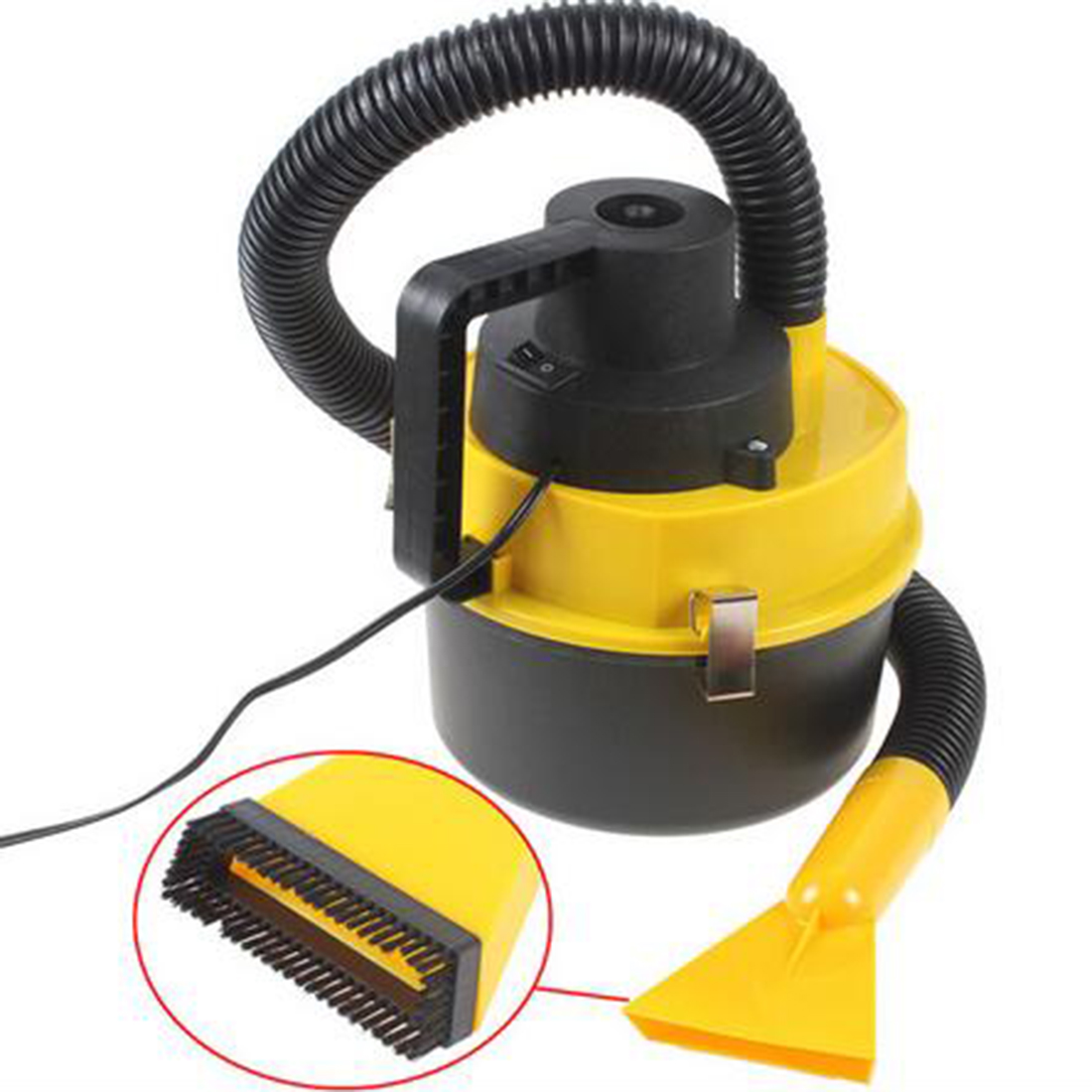 2016 Dc12V High Power Wet And Dry Portable Handheld Car Vacuum Cleaner Washer Car Mini Dust Vacuum Cleaner(China (Mainland))