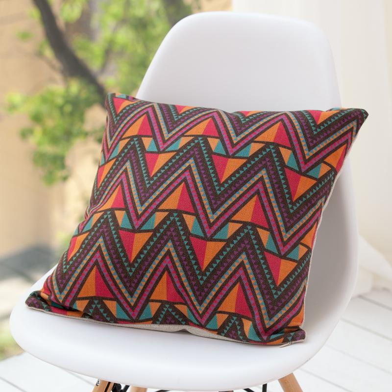Retro-Indian-Folk-Pop-Linen-Cotton-American-Rural-Cushion-Pillow-Cover-Bed-Set-Decorative-For ...