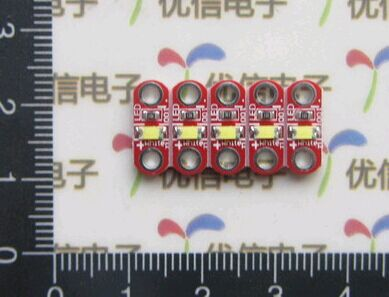 50pcs LilyPad Led Module Active Components Diodes For Arduino Uno DIY(China (Mainland))