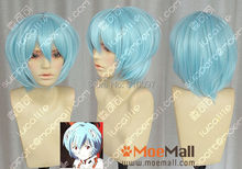 H&X2055>>>>Evangelion Ayanami Rei Short Blue Cosplay Party Wig