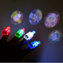 LED Projectors Finger Beams Party Nightclub Glow Light Ring Torch Fun Party Decoration High Quality(China (Mainland))