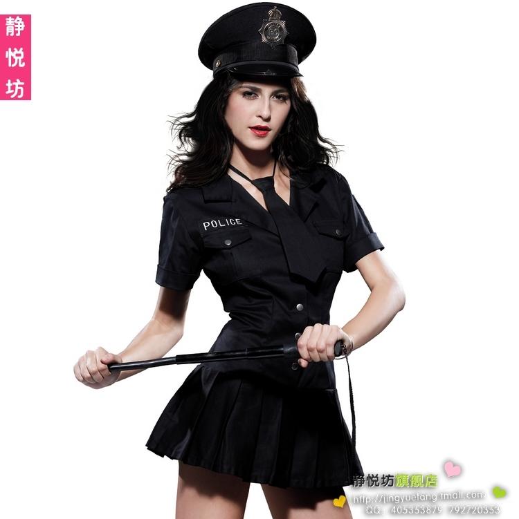 Ds costume navy female police uniform police clothing(China (Mainland))