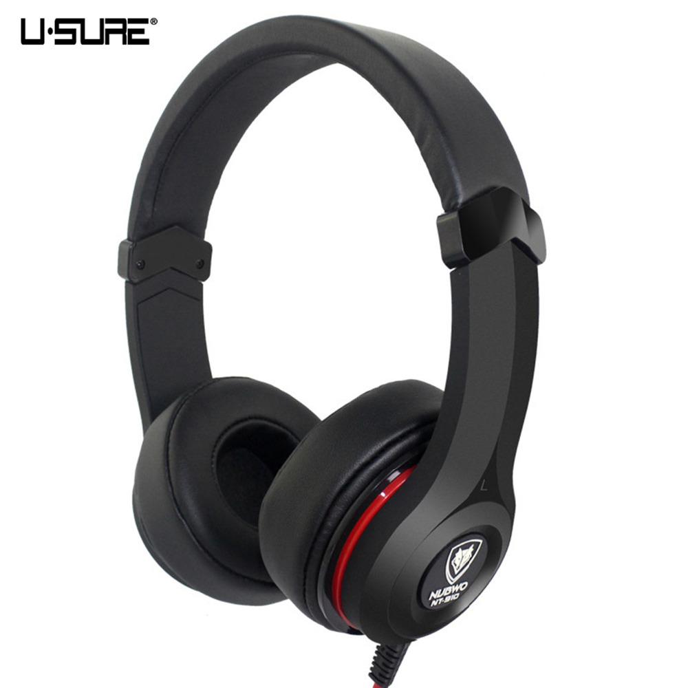 Gaming Headphones Headband Earphone For PS4 Computer Video Game Wired Headphone NUBWO NT-910(China (Mainland))