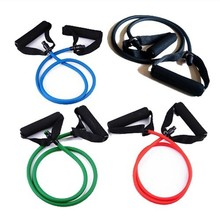 1 pcs Resistance Band Slim Stretch Fitness Muscle Exercise Latex Tube For Workout  Free shipping