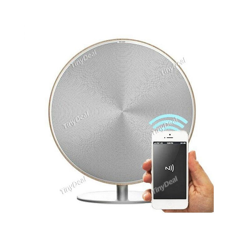 Portable Solo Bluetooth One Speaker and NFC Compatible, Aesthetical ShapeSmooth Sense of Touch,Control via Touch Panel(China (Mainland))