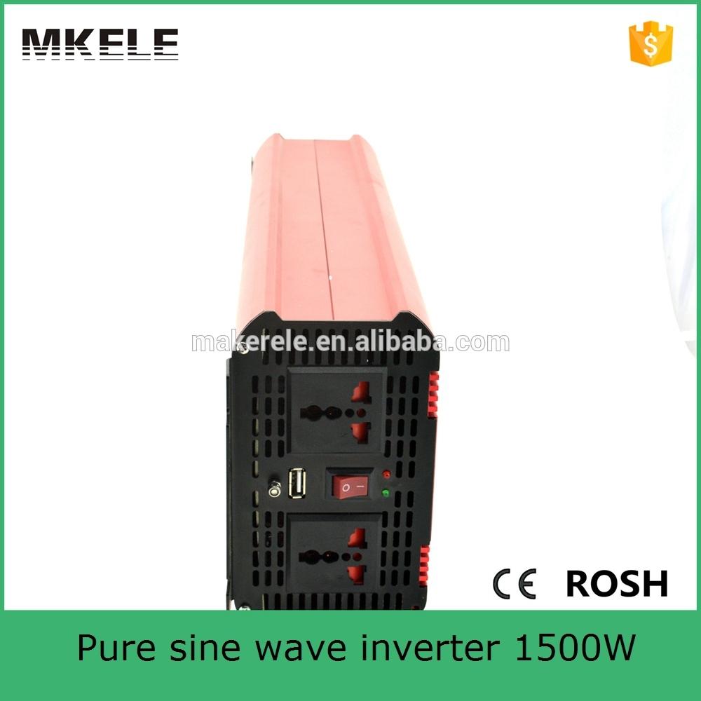 MKP1500-481R dc ac pure sine wave power inverter 48v 110v solar inverter without battery,1500 w inverter for home(China (Mainland))
