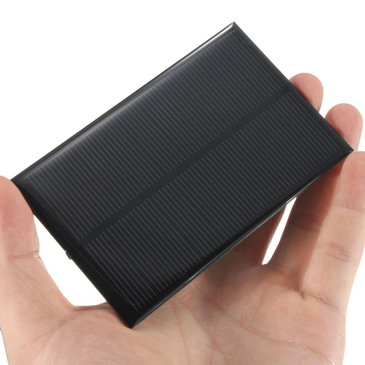 5V 1.25W 250mA Monocrystalline Silicon Epoxy Solar Panels Module kits Mini Solar Cells For Charging Cellphone Battery 110x70mm(China (Mainland))