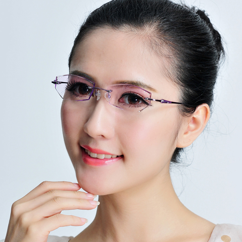 Rimless Glasses Trend : rimless eyeglasses Archives cheap sunglasses