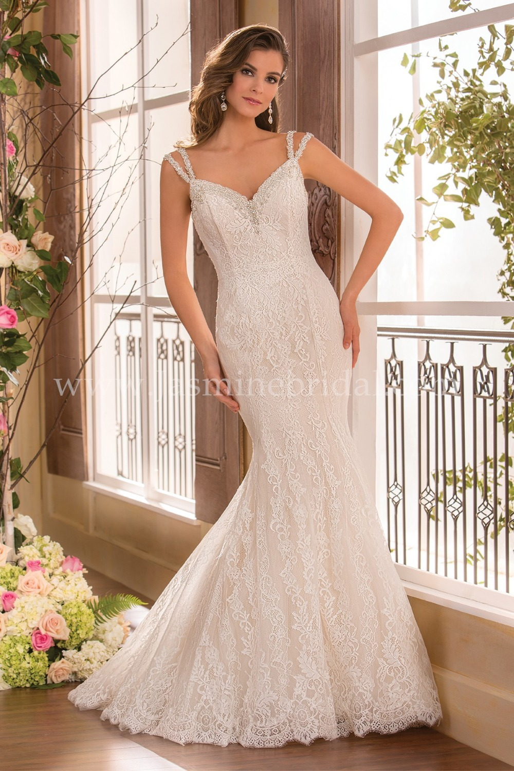 Vestido de noiva new style 2015 long wedding dress with for New wedding dress styles