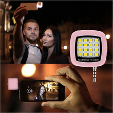 New Style LED FLASH for camera Phone support for multiple Selfie sync Photography LED Light For IOS Android iphone 6 5 S samsung(China (Mainland))