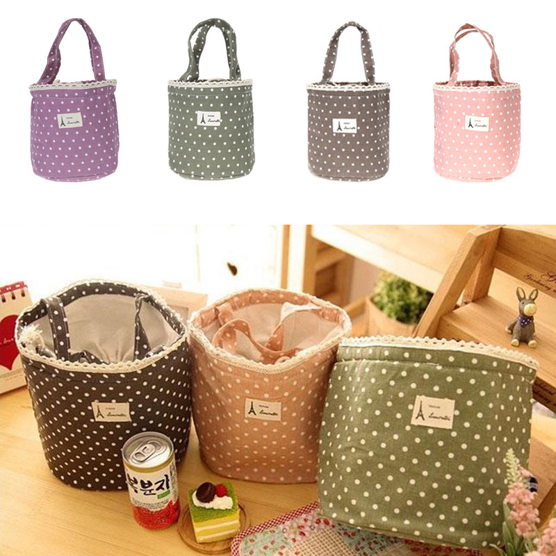 Hot Sale Thermal Cooler Waterproof Insulated Lunch Portable Carry Tote Storage Bag 4 Colors Free Shipping(China (Mainland))