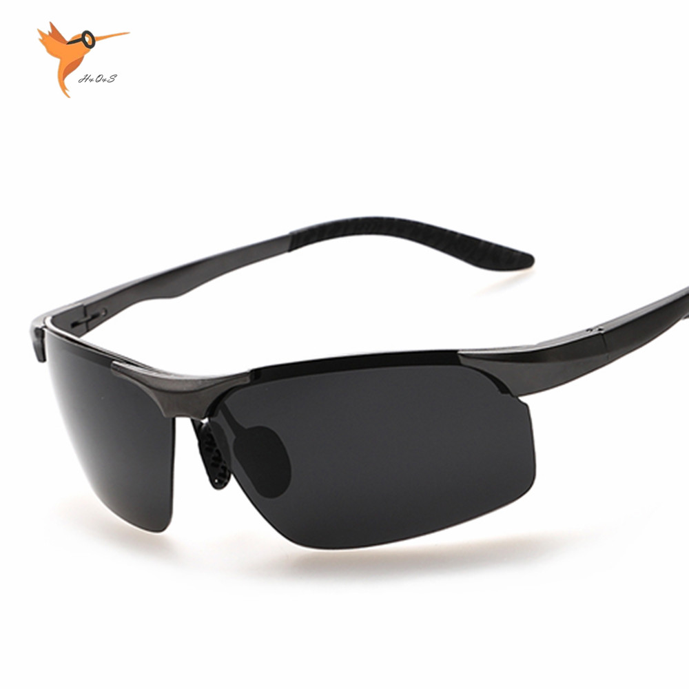 Rimless Rectangle Glasses : Pop Aluminum Magnesium Polarized Sunglasses Rimless ...