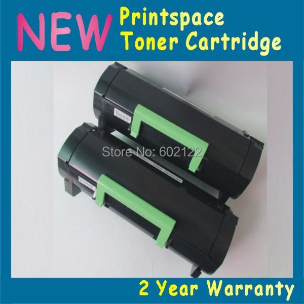 Фотография 2x NON-OEM High Capacity Toner Cartridge Compatible For Lexmark MX310 MX410 MX510 MX511 MX610 MX611 (10000 pages)