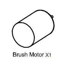 LC Racing L6077 380 BRUSH MOTOR LC Racing EMB parts brushed Tacon Thriller Ranger Soar Valor