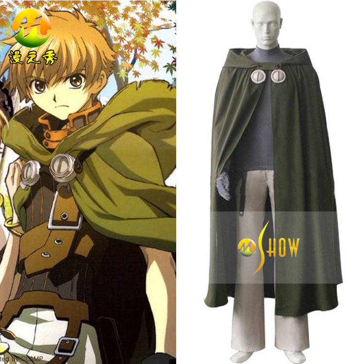New Tsubasa Reservoir Chronicle Syaoran Cosplay Costume