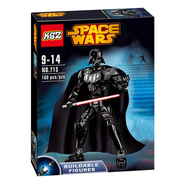 Star Wars 2016 Darth Vader Lightsaber 7 Building Blocks Compatible With LEGOED