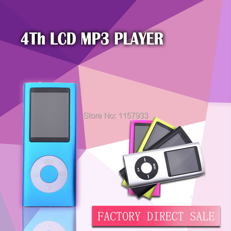 """Price-off Promotions mini clip MP3 player Slim1.8"""" LCD screen 4th MP3 photo E-Book Music FM Radio Video no headset no USB cable(China (Mainland))"""