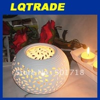 High-Q solar product & Low carbon Christmas/ hollow candlestick / white candle / Solar Christmas candle lamp
