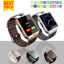 2016 new Fashion Smart Watch DZ09 Support TF/Sim Card Watch Camera SIM/TF Men Wristwatch for IOS Android Phone VS U8 GV18 GT08(China (Mainland))