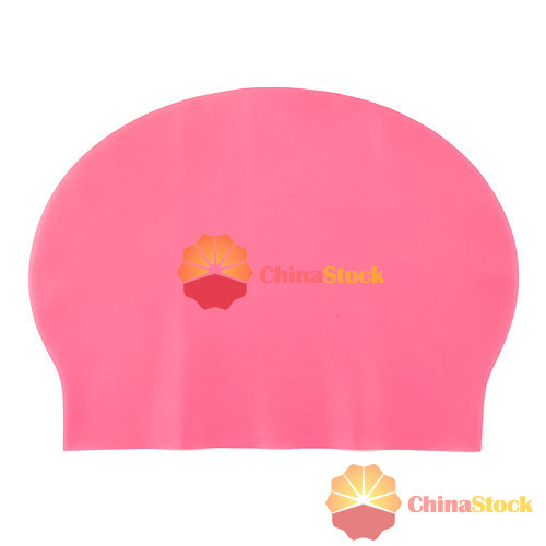 ChicMart Fashion Durable Sporty Rubber Swim Cap Swimming Hat(China (Mainland))