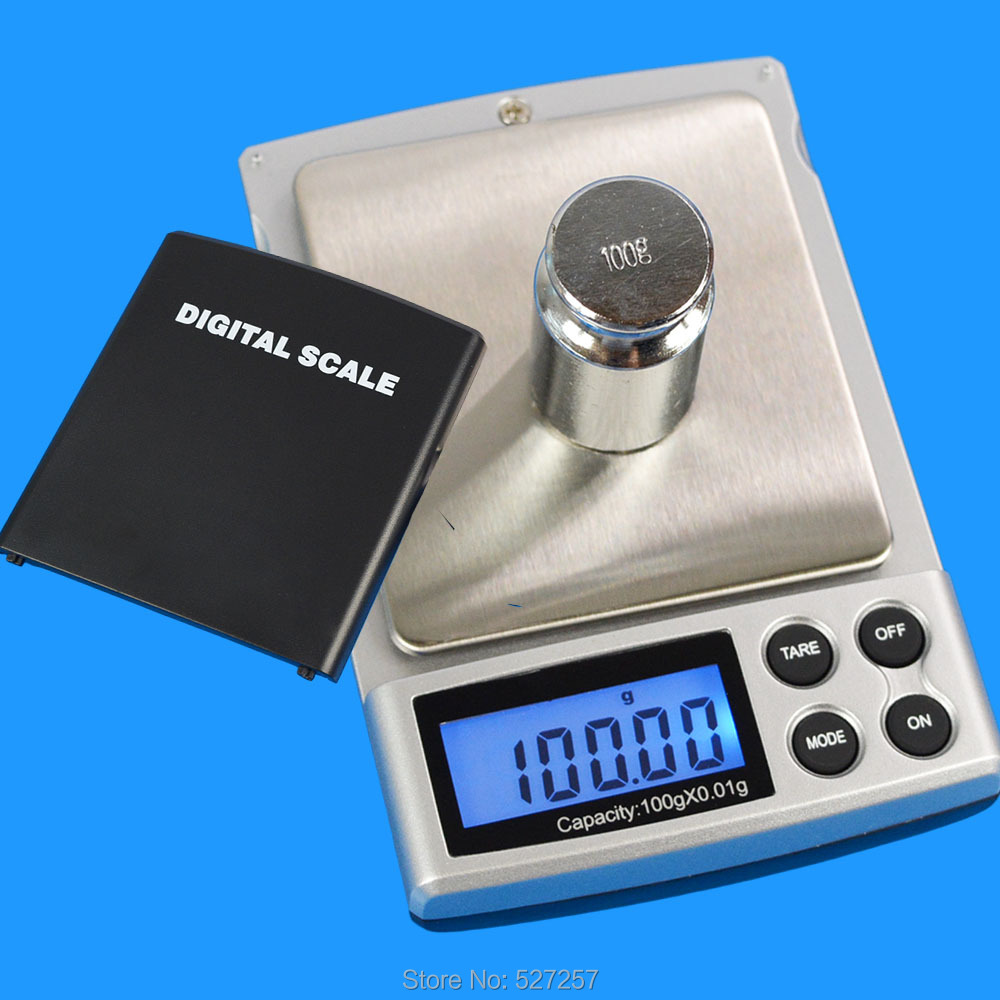 Diamond Scales Jewelry Scale Electronic Pocket Digital Scale Weight LCD 100g 0.01g<br><br>Aliexpress