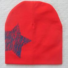 New Baby Girl Boy Stars Printed Hat Soft Warm Cotton Kid Toddler Beanie Cap