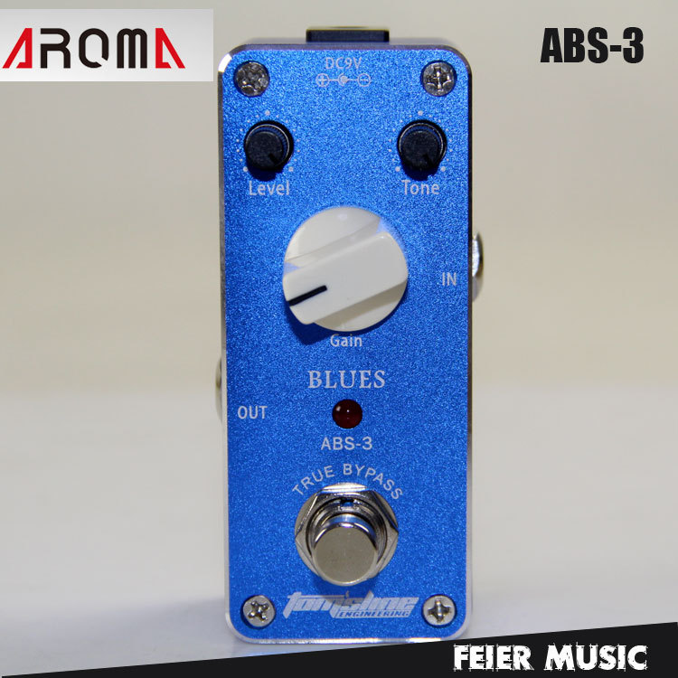 Effects AROMA ABS-3 Blues AC/DC Adapter Jack Guitar Effect Pedal(China (Mainland))