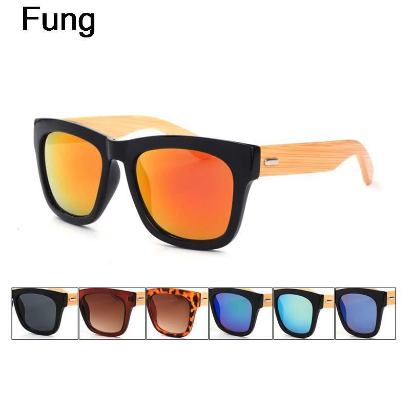 New 2015 bamboo sunglasses men wood sunglasses handmade bamboo arms metal hinge wooden sunglasses for men(China (Mainland))