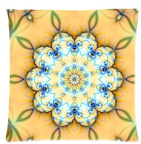 Cool Pillowcase Mandala Hippie Tapestry Style Pillow Case18 x 18 inch