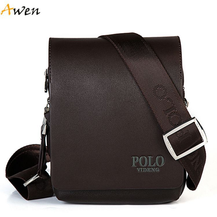 Awen-New Arrival Fashion Business Leather Men Messenger Bags,Promotional Small Crossbody Shoulder Bag For Male,Casual Man Bag(China (Mainland))
